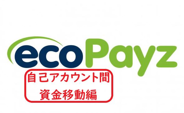 【ecopayz】エコペイズ 自己口座の異なる通貨の資金移動編