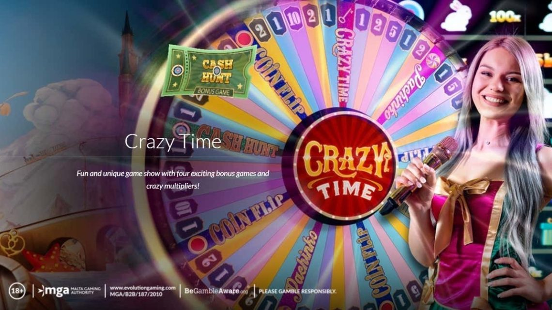 【Crazy time】クレイジータイム(キャッシュハント)小ネタ